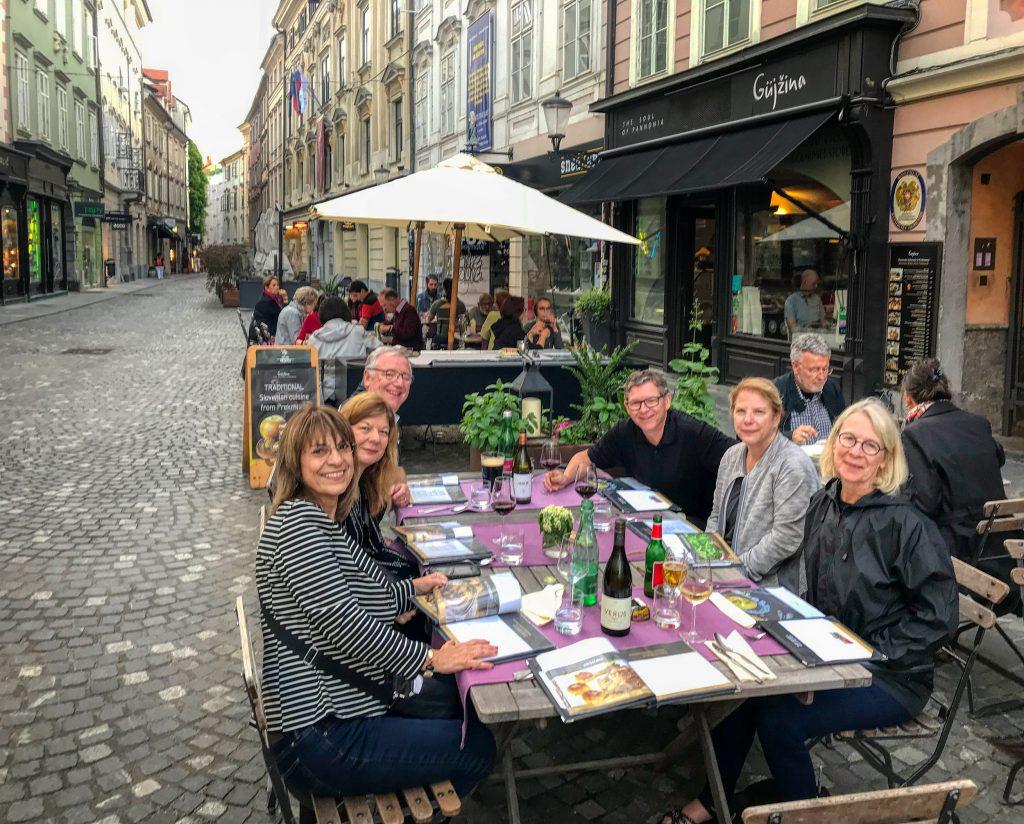 Ljubljana-dinner