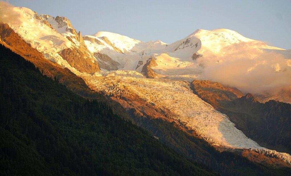Sunset on Mt. Blanc