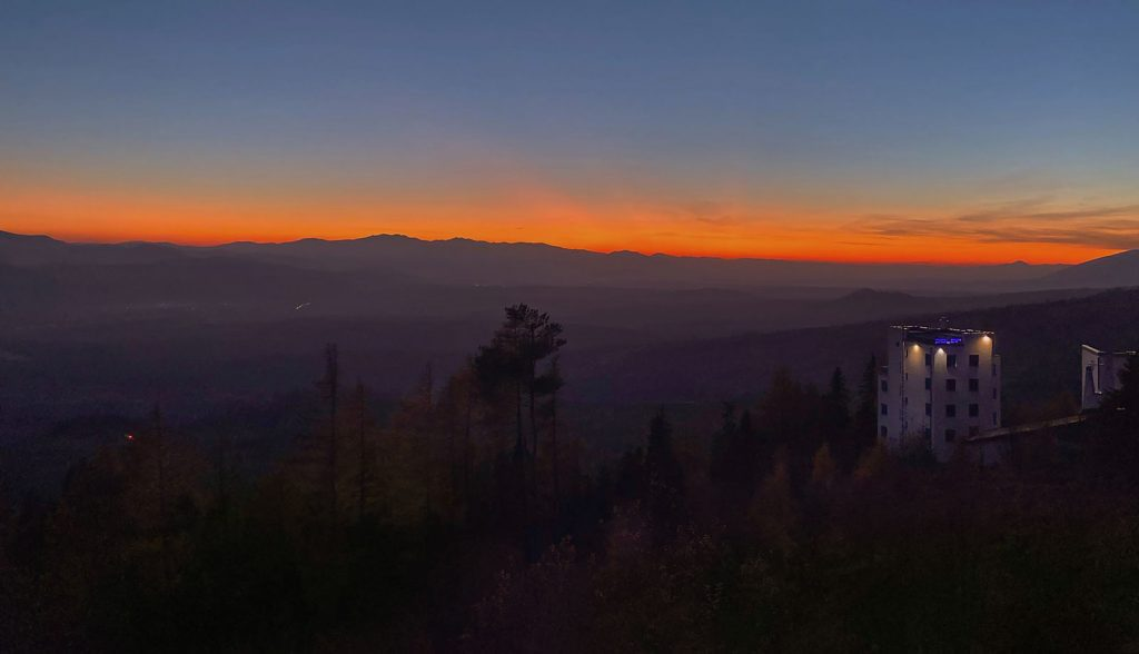 Tatra-sunset