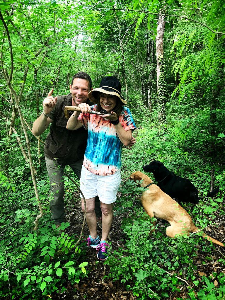 Truffle-hunting