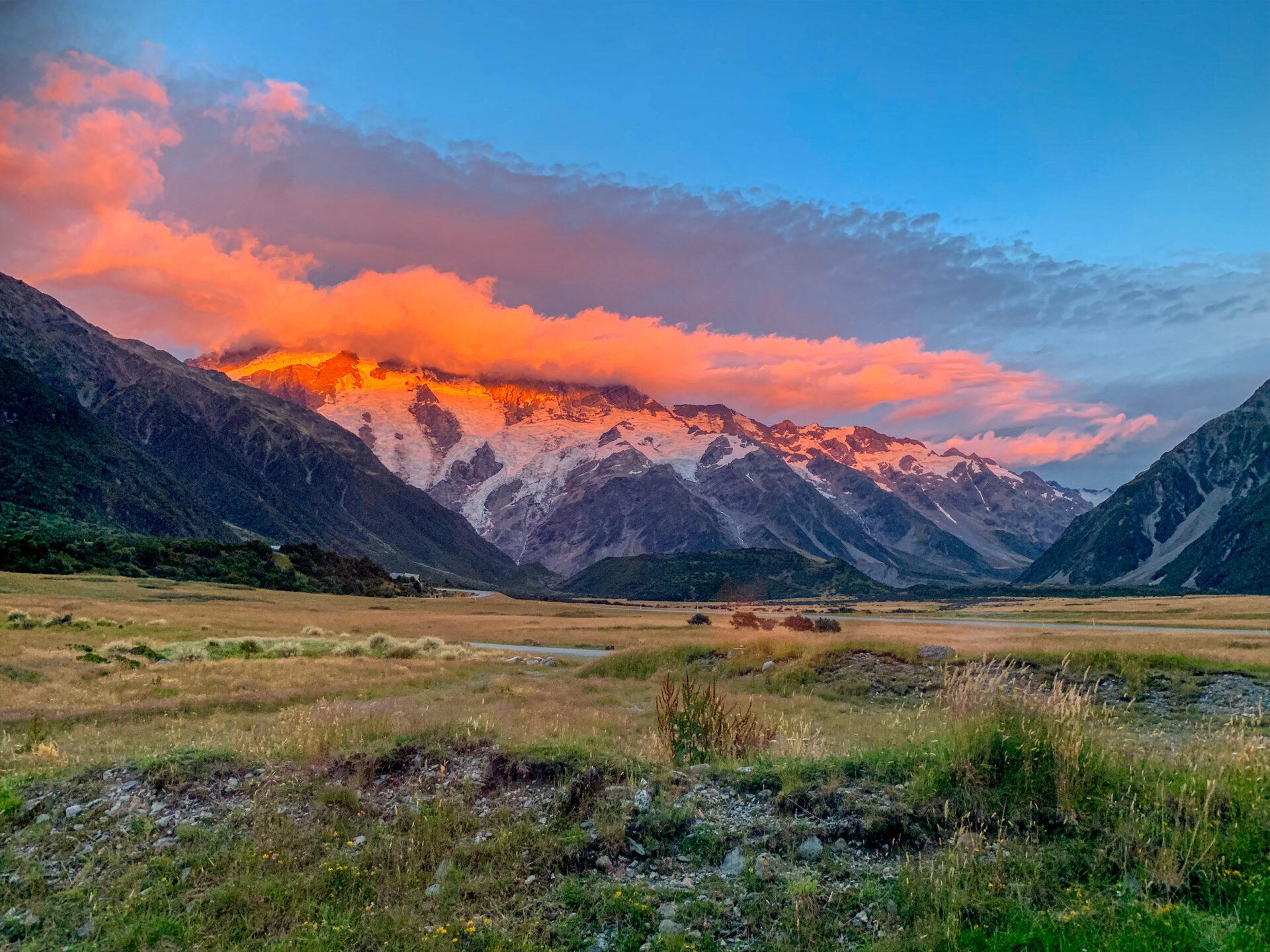 Mt Cook Alpenglow